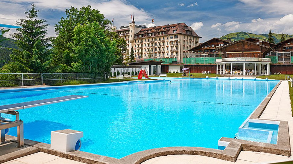 Gstaad Palace Pool