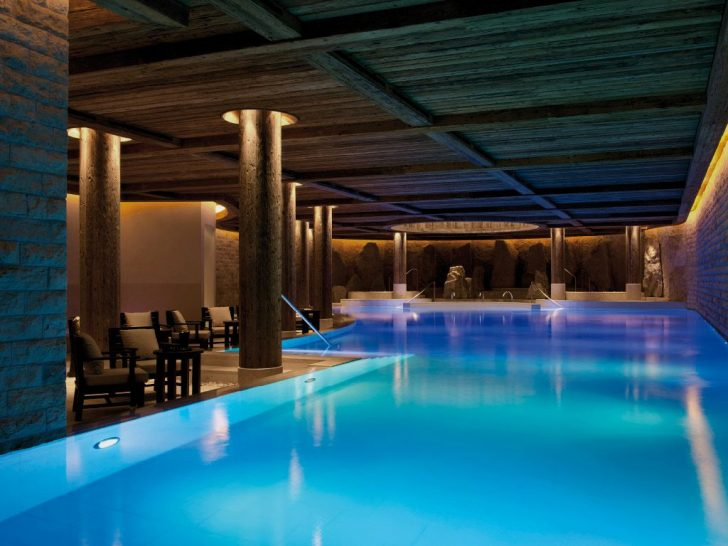 Gstaad Palace Spa Pool