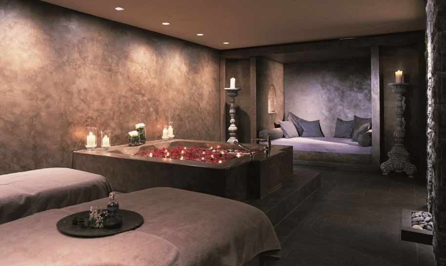 Gstaad Palace Spa Treatment Room
