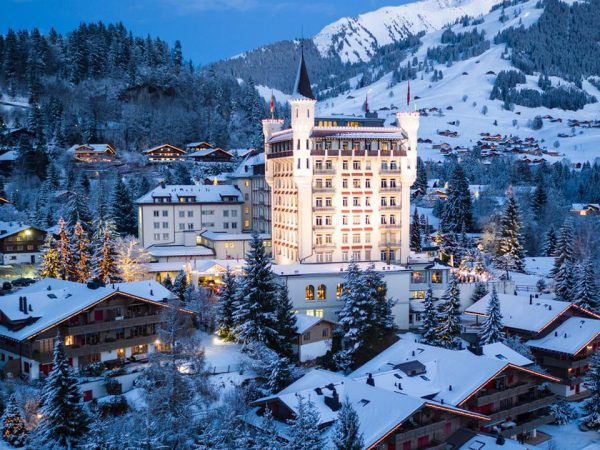 Gstaad Palace View