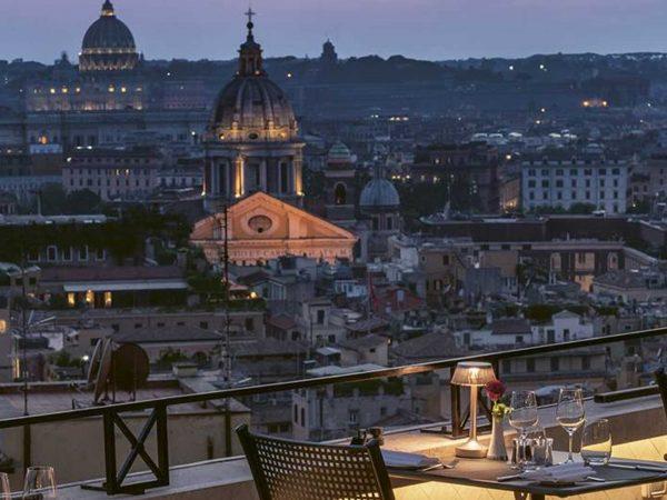 Hassler Roma 7th Floor Terrace