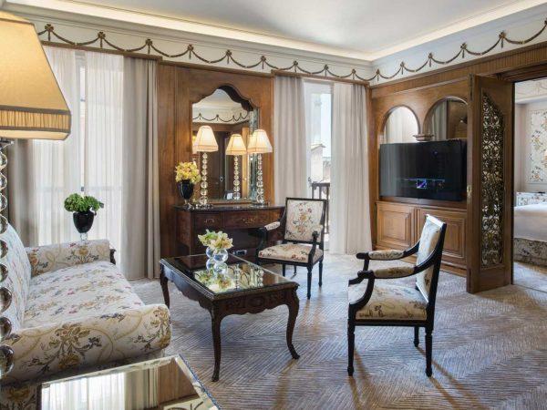 Hassler Roma Executive Suite