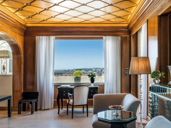 Hassler Roma Villa Medici Suite