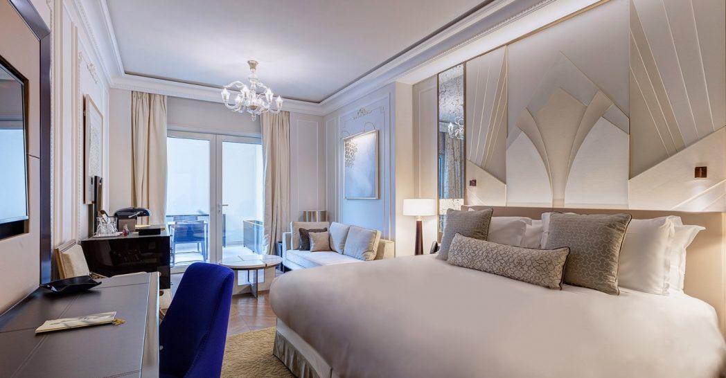 Hotel De Paris Monte Carlo Deluxe Room City or Patio View