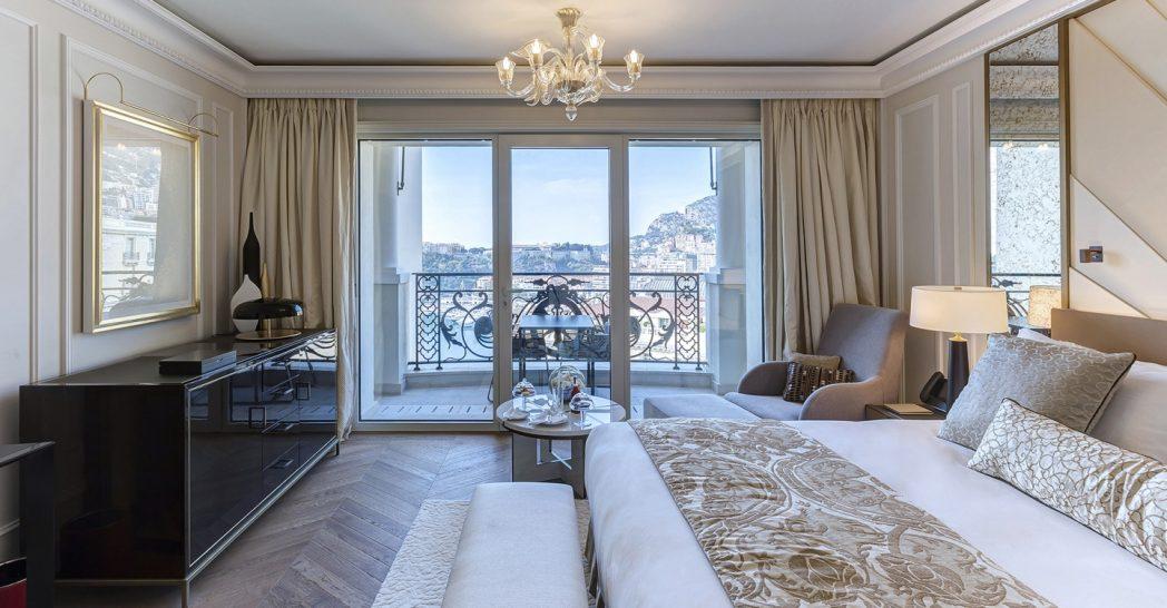 Hotel De Paris Monte Carlo Deluxe Room Harbour View
