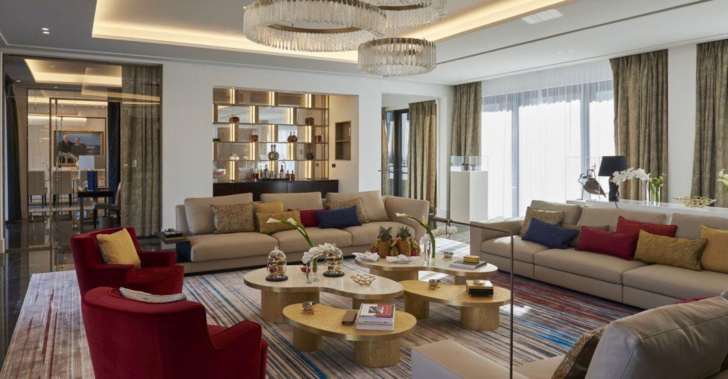 Hotel De Paris Monte Carlo Diamond Suite Prince Rainier III