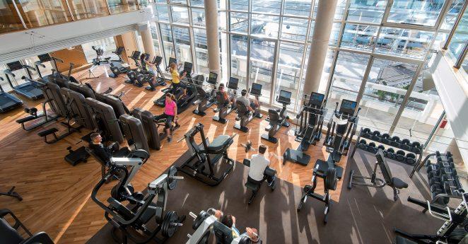 Hotel De Paris Monte Carlo Gym