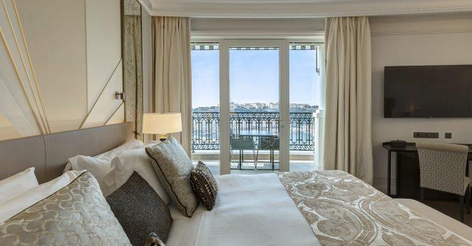 Hotel De Paris Monte Carlo Junior Suite Sea View