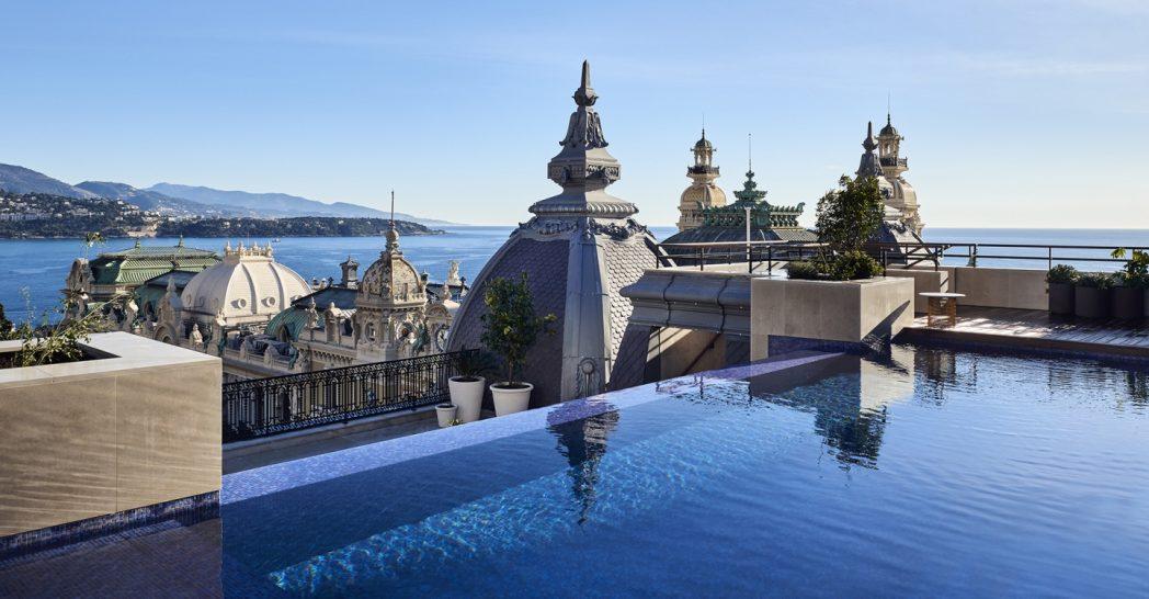 Hotel De Paris Monte Carlo Pool