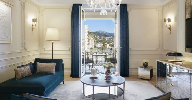 Hotel De Paris Monte Carlo Suite Casino View