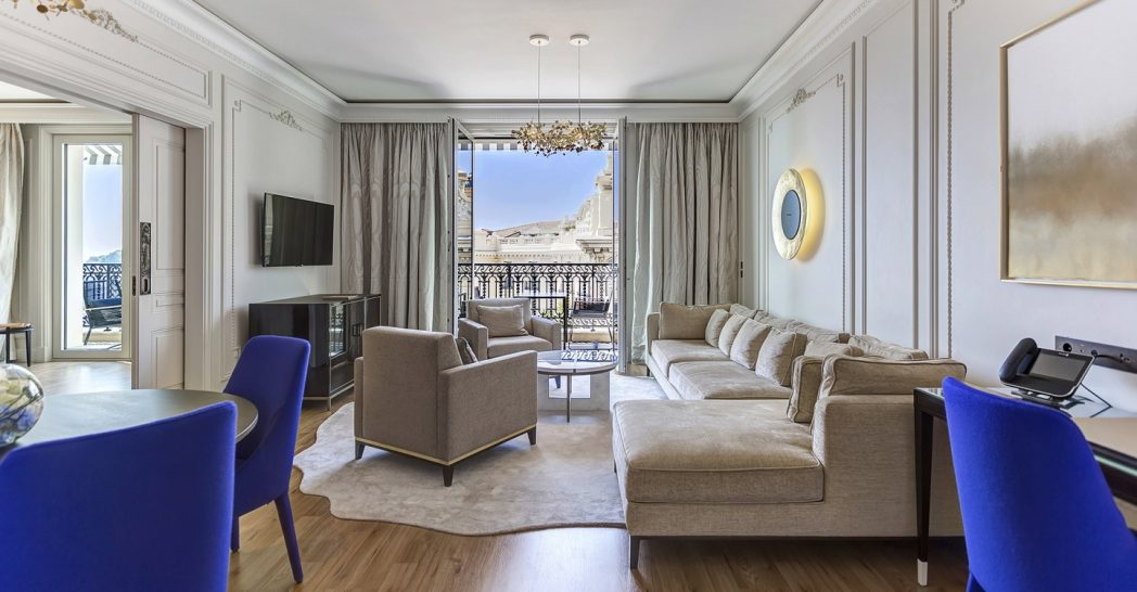 Hotel De Paris Monte Carlo Suite City View or Patio View