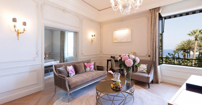 Hotel De Paris Monte Carlo Suite Sea View