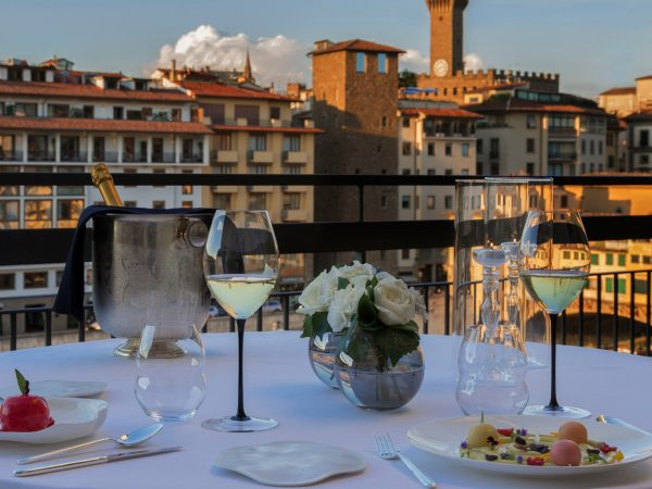 Hotel Lungarno Executive Double Terrace with River View