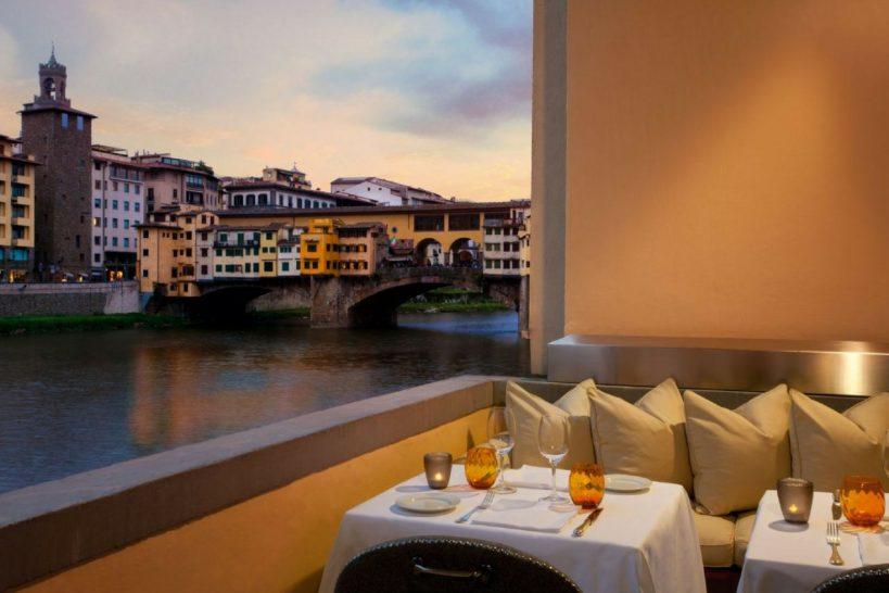 Hotel Lungarno Florence borgo san jacopo private terrace
