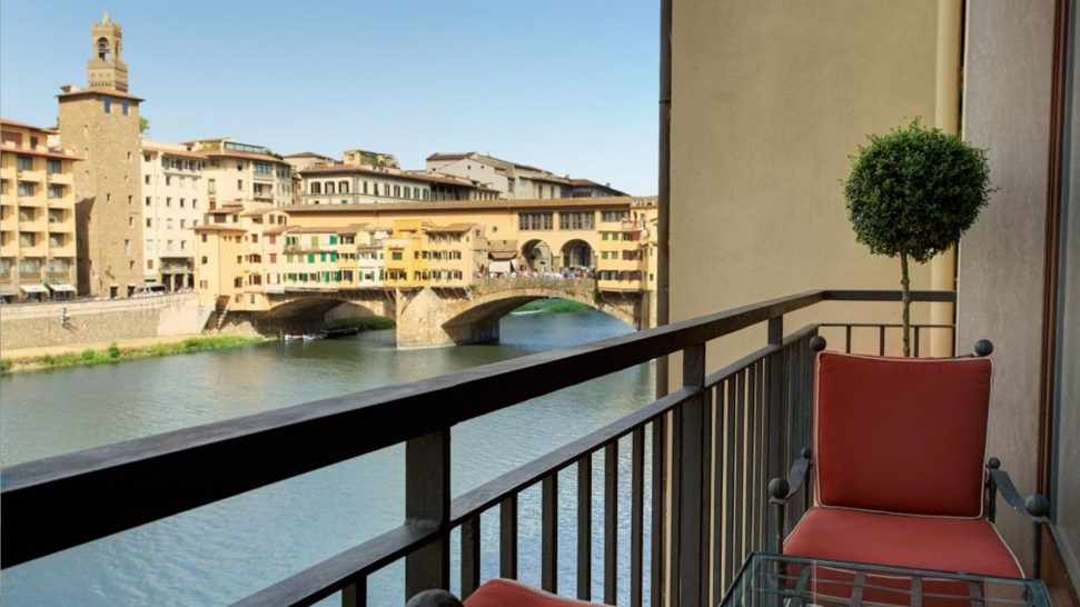 Hotel Lungarno Suite Cocteau River View