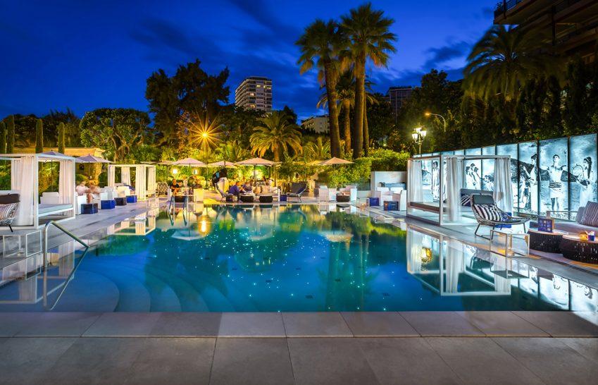 Hotel Metropole Monte Carlo Night View