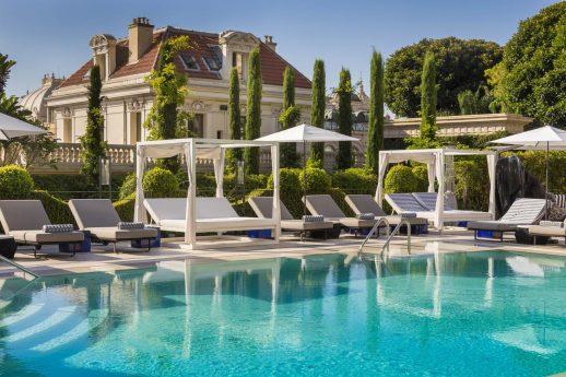 Hotel Metropole Monte Carlo Outdoor Pool