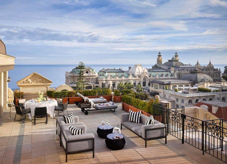 Hotel Metropole Monte Carlo Suite Carre d or terrace