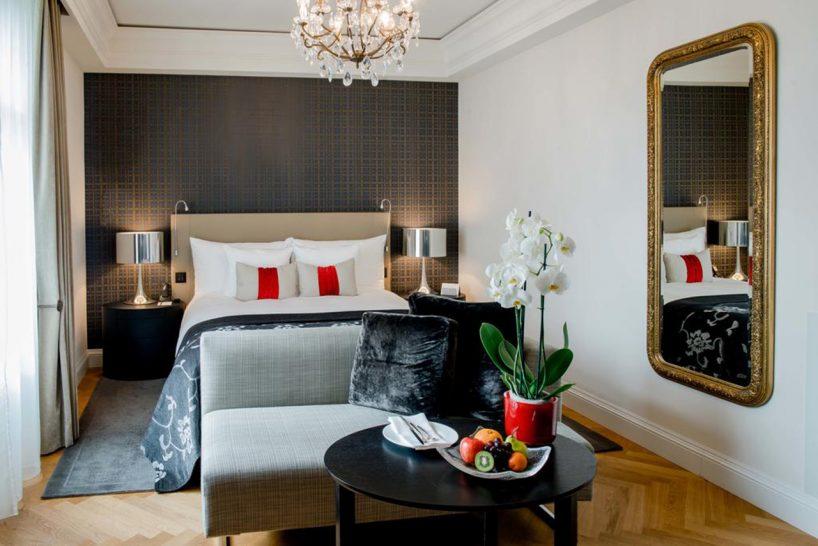 Hotel Schweizerhof Bern and The Spa Charming King Room