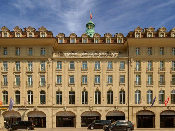 Hotel Schweizerhof Bern and The Spa Exterior