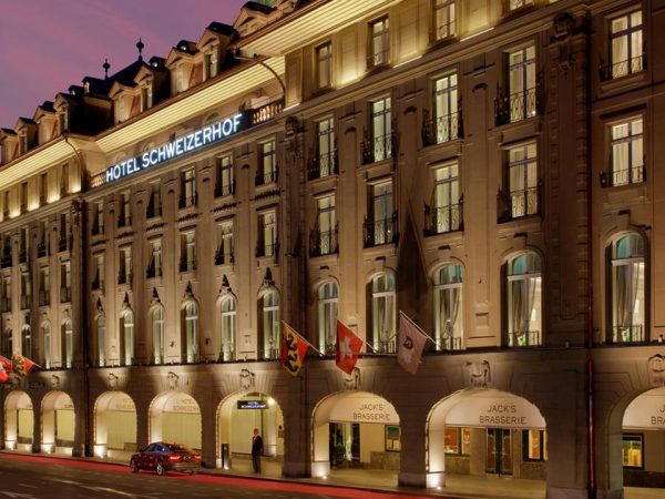 Hotel Schweizerhof Bern and The Spa Exterior View