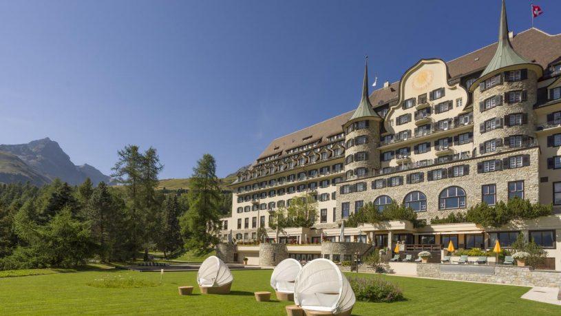 Hotel Suvretta House St. Moritz Hotel View