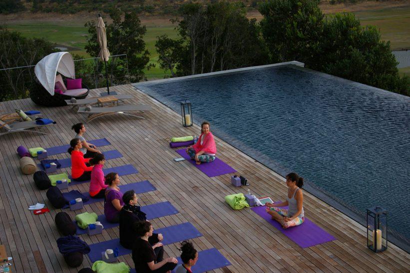Hotel Vik Chile Yoga Class