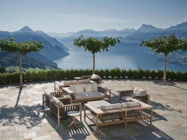 Hotel Villa Honegg Terrace Lounge