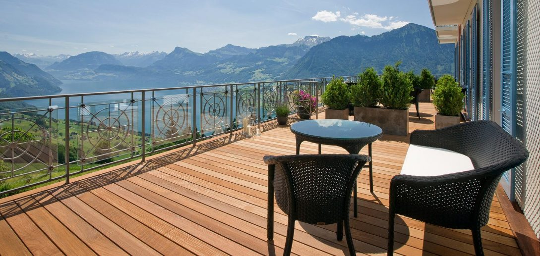 Hotel Villa Honegg junior Suite Lake View