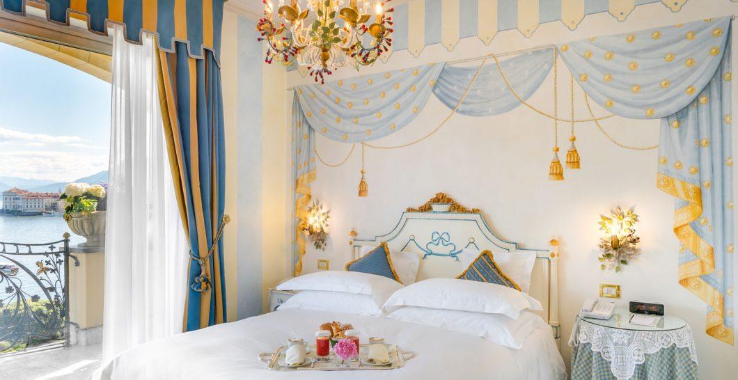 Hotel Villa e Palazzo Aminta Deluxe Lake View Room