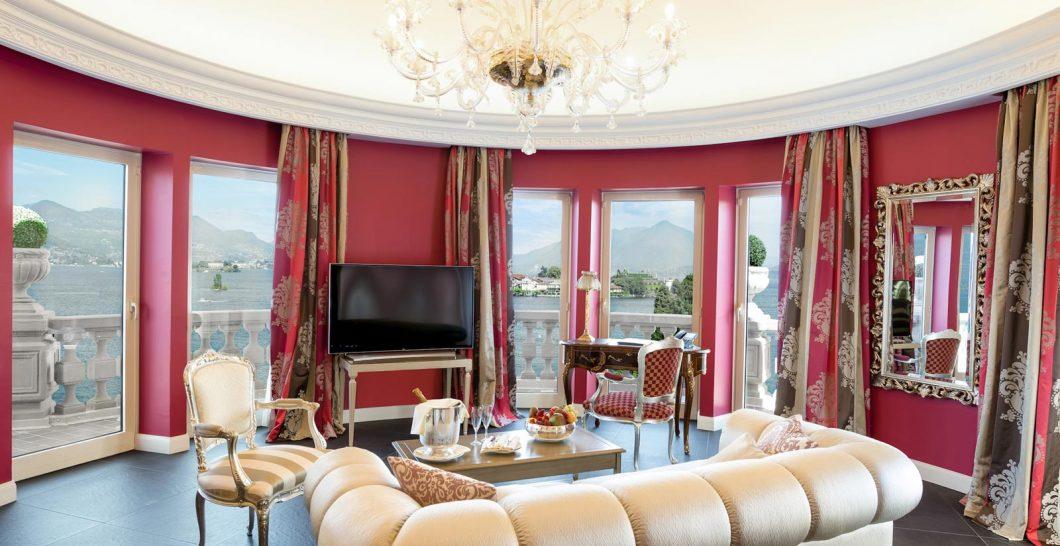 Hotel Villa e Palazzo Aminta La Borromea Suite lake view