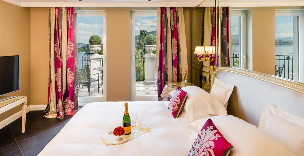 Hotel Villa e Palazzo Aminta Liz Taylor Suite Lake View