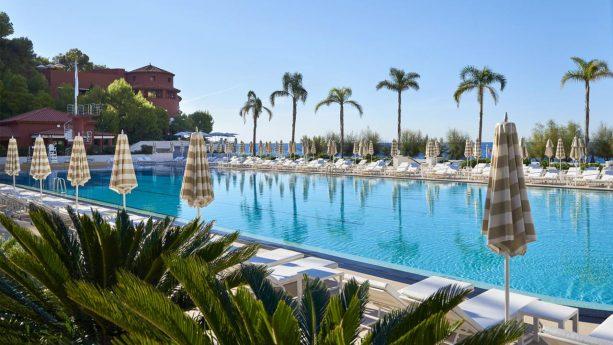 Hotel de Paris Monte Carlo Outdoor Pool