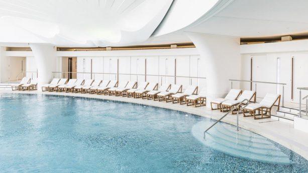 Hotel de Paris Monte Carlo Pool View