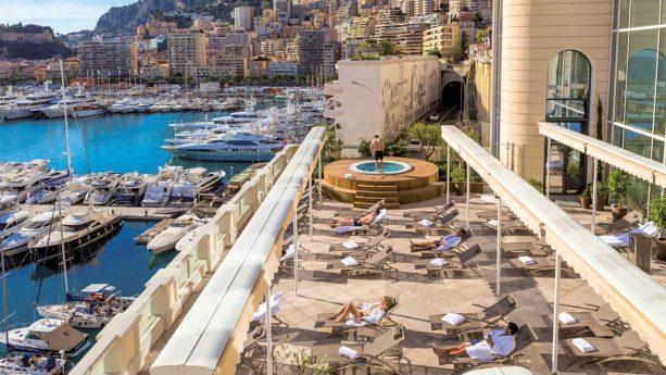 Hotel de Paris Monte Carlo Sea View