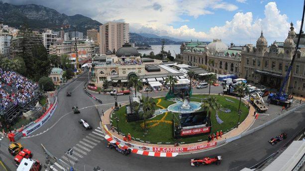Hotel de Paris Monte Carlo Top View
