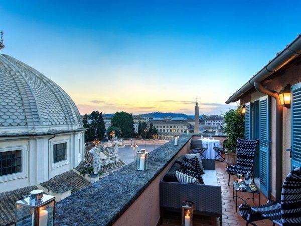 Hotel de Russie Popolo Suite Terrace