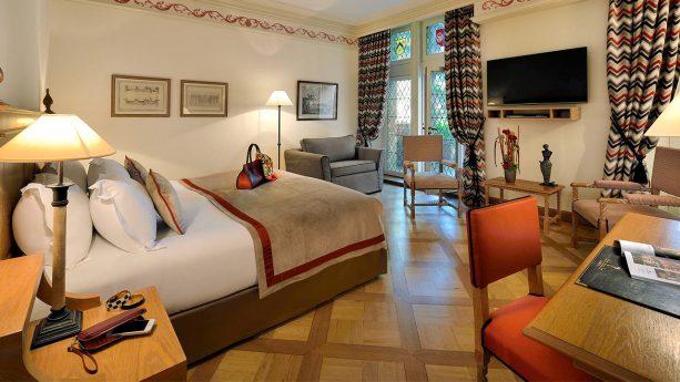 Hotel de la Cit? Carcassonne Classic Room, 1 King Size Bed