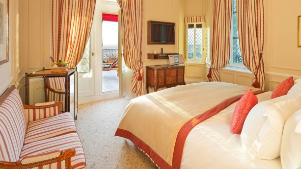 Hotel de la Cite Carcassonne Deluxe Suite, 1 Double Bed, 1 Single Bed, 2 Rooms