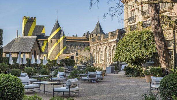 Hotel de la Cite Carcassonne Exterior
