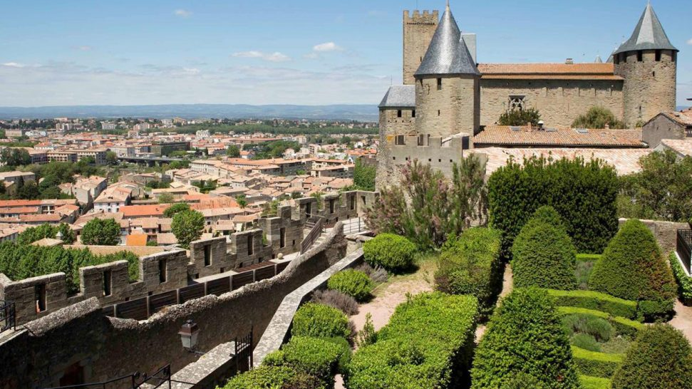 Hotel de la Cite Carcassonne Exterior View