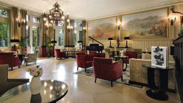 Hotel de la Cite Carcassonne Interior View