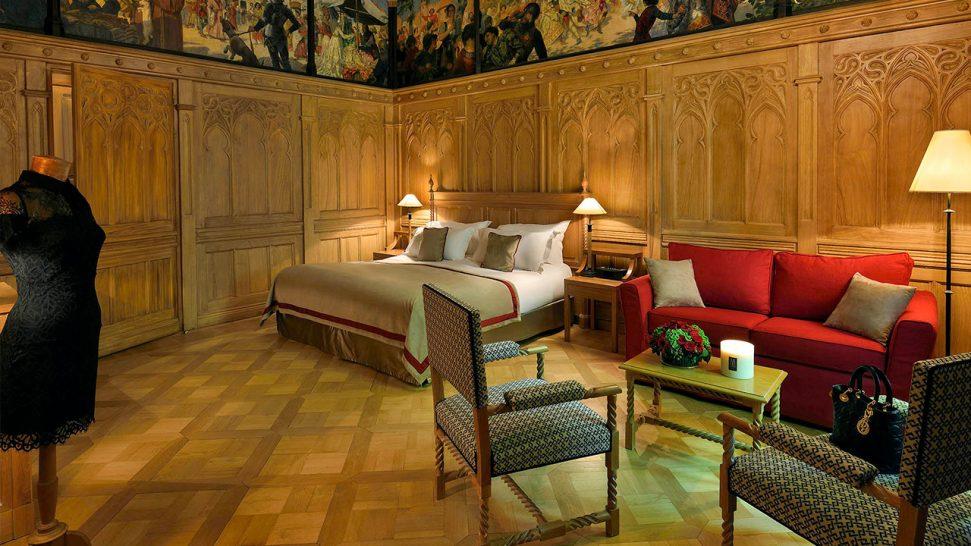 Hotel de la Cite Carcassonne Junior Suite, 1 King-size Bed, 1 Sofa Bed