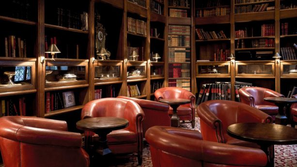 Hotel de la Cite Carcassonne Library