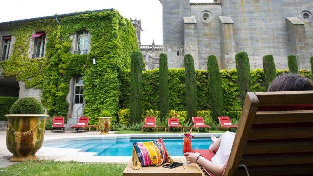 Hotel de la Cite Carcassonne Lobby View
