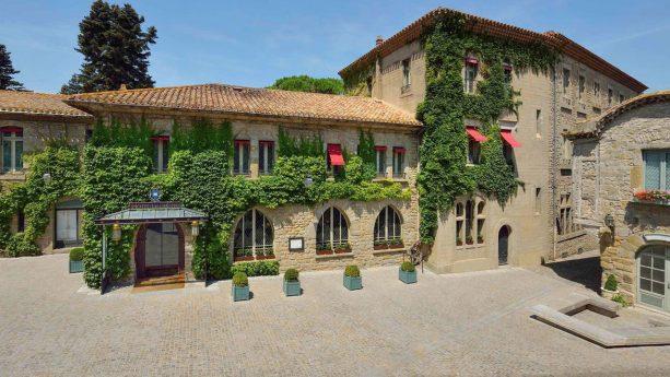 Hotel de la Cite Carcassonne View