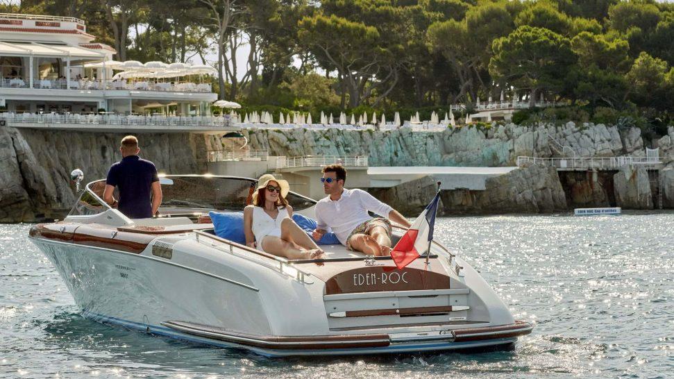 Hotel du Cap Eden Roc Aquariva Super Riva Speed Boat