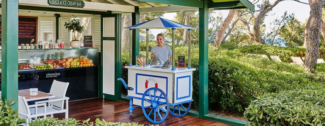 Hotel du Cap Eden Roc Juice & Ice Cream Bar