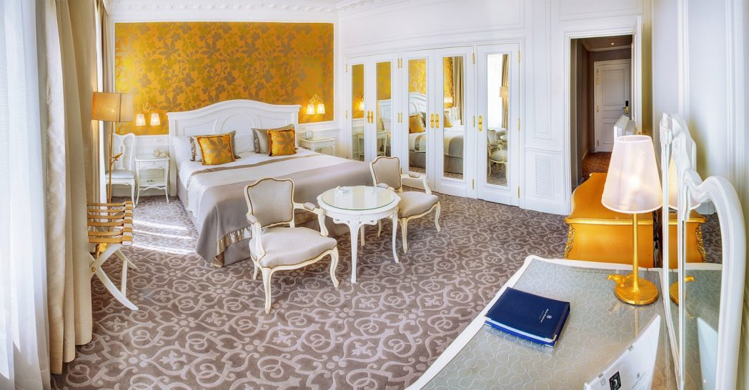 Hotel Hermitage Monte Carlo Deluxe Room City or Courtyard View
