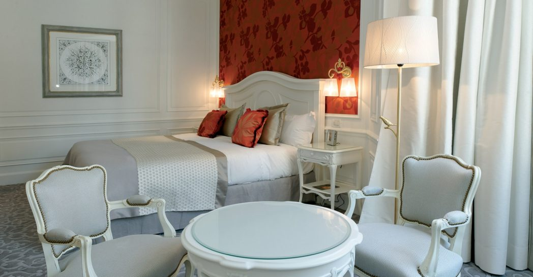 Hotel Hermitage Monte Carlo Superior King Room City or Courtyard View